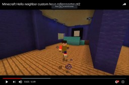 Hello Neighbor Custom House (Not complete) Minecraft Map & Project