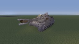 "WWII German Sturmgeschütz III, Ausf.G Assault gun/Tank destroyer. Normal and Girls und Panzer ""Hippo team"" ver. Minecraft"