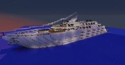 Superyacht - Neptune's Mariner - Mariner Class Minecraft Map & Project