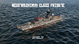 Neustrashimyy class Russian frigate [1:1 scale] Minecraft Project