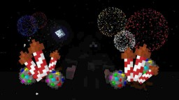 New Year's Fireworks! Minecraft Map & Project