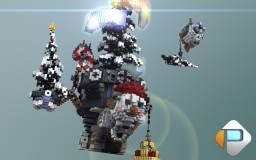 Flying Christmas tree Minecraft Map & Project