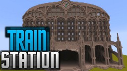 Train station Minecraft Project