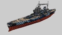 Brittish Battleship HMS Prince of Wales 1:1 Minecraft Project