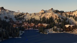 Realistic Ski-Resort [FREE] Minecraft Project