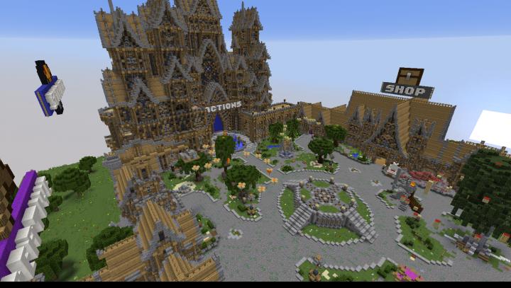 Spawn Hub Castle