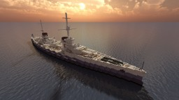 Russian Battleship - Battleship 1914 (Bubnov Design) - For TheOfficialNano Minecraft