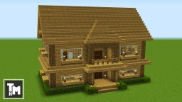Minecraft How To Build A Suburban House Tutorial Easy Episode 1 2018 Minecraft Map