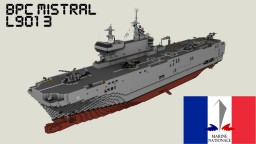 BPC Mistral (L9013) LHD Minecraft Project