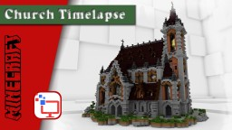 Minecraft Timelapse, Speed Build | Epic Cathedral | +Free Map Download Minecraft Project