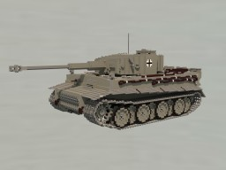 PzKpfw VI Tiger (H) Minecraft Map & Project
