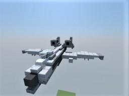fairchild republic a-10 thunderbolt II Minecraft