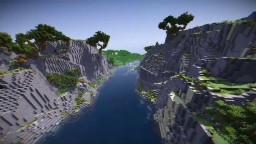 Epic Dual Montain Landscape (not for playing) Minecraft Project