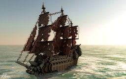 Flying Dutchman | Pirates Of The Caribbean Minecraft