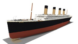 RMS Olympic 5:1 in Minecraft. Minecraft