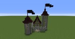 Mini Castle: Mini Build Series #1 Minecraft Project