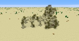 Mini Temple: Mini Build Series #6 Minecraft Project