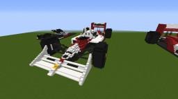 1988 McLaren MP4/4 Minecraft Map & Project