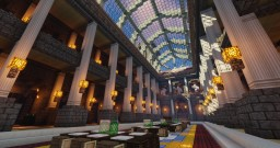 A library (Survival) Minecraft Project