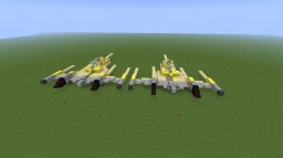 Naboo NB-1 royal bomber Minecraft Project