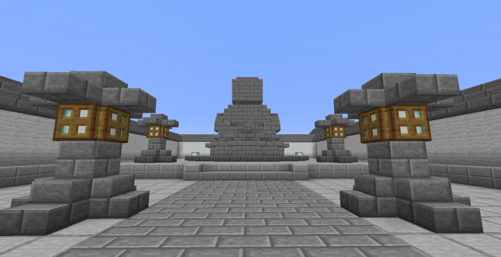 A Buddha statue. I suck at building statues.