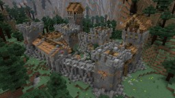 KONKERIDO FORT || Small Detailed Medieval Fort Minecraft Project
