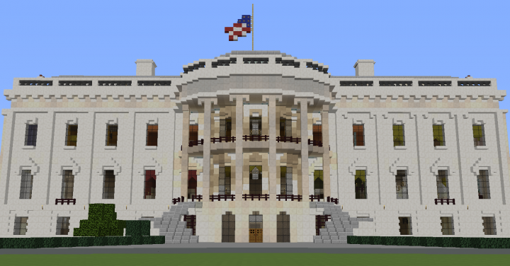 The White House Modded Map 100 Accurate