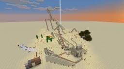 Short Desert RollerCoaster Minecraft Project