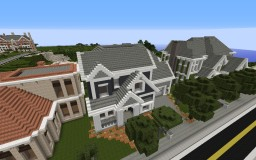 Luxurious Suburban Home Minecraft Map & Project