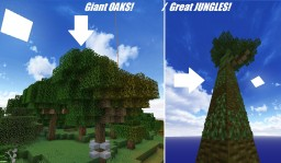 How to Make Large TREES - Tutorial Minecraft Blog Post