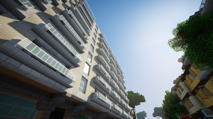 Medium-wealth tower block