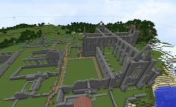 Tintern Abbey, Monmouthshire, Wales Minecraft Map & Project