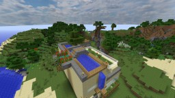 Beach Front Villa Minecraft Map & Project