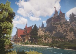 Castle Blackthorn/Schwarzdorn & Medieval Tavern Minecraft Project