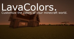 LavaColors (Shader Pack) Minecraft Texture Pack
