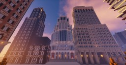 Old Style Skyscrapers Minecraft Project