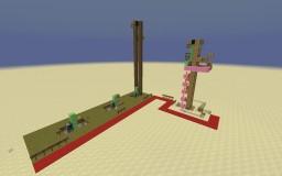 Redstone Elevator Tutorial + Improvements Minecraft Project