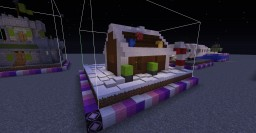 Gingerbread Villager House Minecraft Map & Project