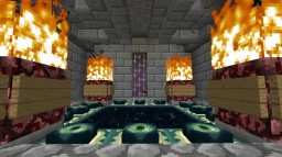 Epic End Arena Minecraft Project