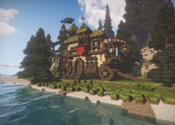 Giant Fantasy Carriage Minecraft Map & Project