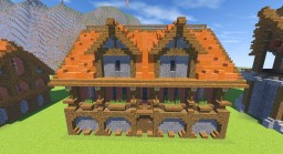 -=-Black Clover-=- Royal Area Medium House Minecraft Map & Project
