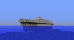 HMHS Glory WW1 hospital ship progress Minecraft Project