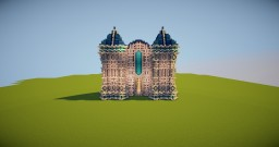 The quartz palace Minecraft Project