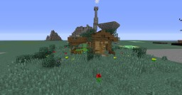 Little Rustic Shed Minecraft