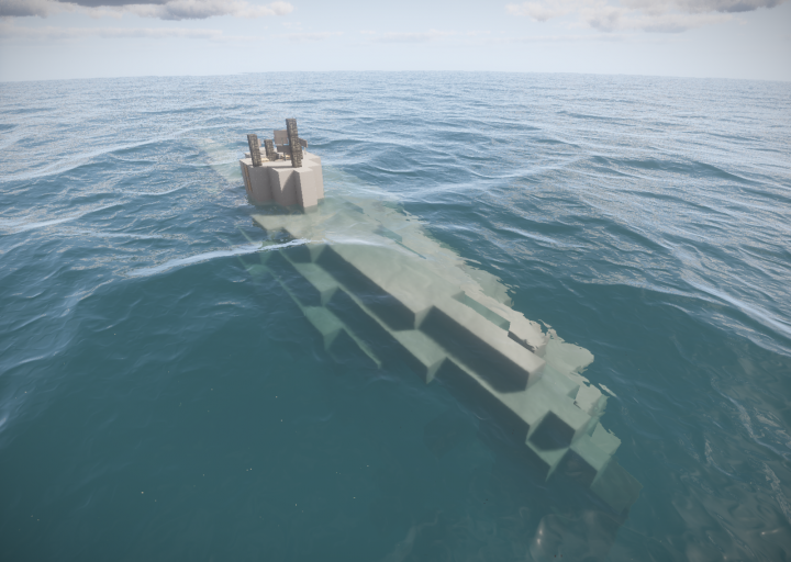 Spawn!!!Old submarine on planetminecraft!!!