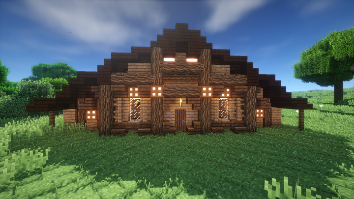 Simple Rustic House Minecraft Map
