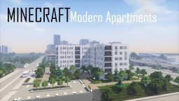 Modern Apartment Building 6 (full interior) Minecraft Project