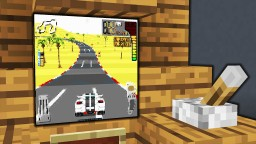 Minecraft - How To Make A Working Car Game | Arcade | Tutorial Minecraft Project