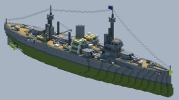 [OIR] Astolfo-class battleship Minecraft Map & Project