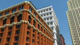 Bakerstown's First High-rise, The Bradberry Building: Built in 1889 Minecraft Project